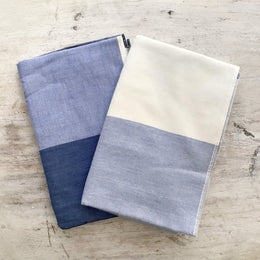 Two-Toned Blue Yoshii Hand Towel
