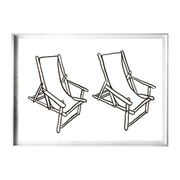 Twin Deck Chairs