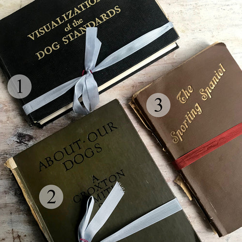 Vintage Dog Books
