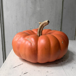 Short Porcelain Pumpkin