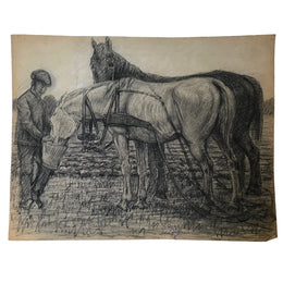 Evert Rabbers Horse Drawing 03