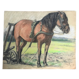 Evert Rabbers Horse Drawing 08