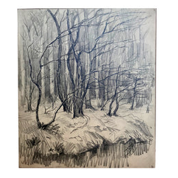 Evert Rabbers Landscape Drawing 63