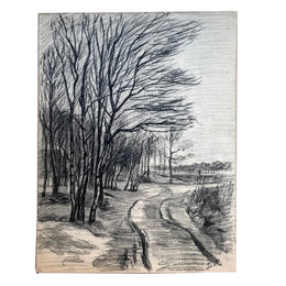 Evert Rabbers Landscape Drawing 65