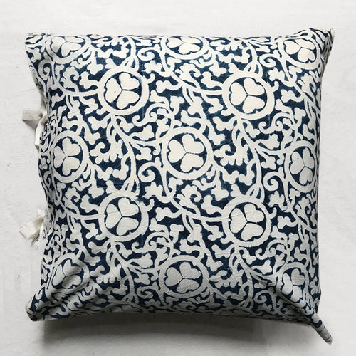 Jolie Pillow in Indigo