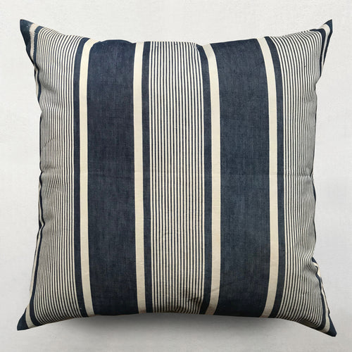 19th Century French Ticking Pillow