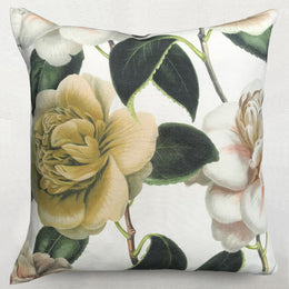 John Derian for Designers Guild Custom Camilla Folly Parchment Cushion