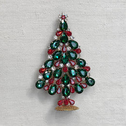 Jeweled Tivoli Crystal Tree