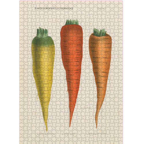 Three Carrots 1,000-Piece Puzzle