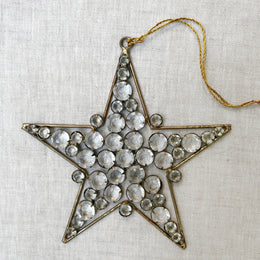 Jeweled Star Ornament