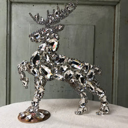 Nostalgic Large Diamond Deer (L)