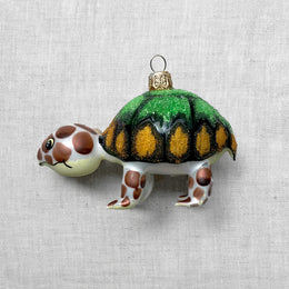 Brown & Green Turtle Ornament