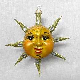 Jeweled Sun Ornament