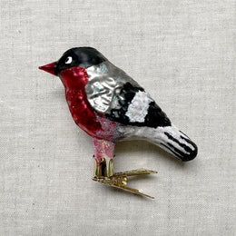 Red Bird Clip-On Ornament