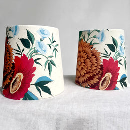 Custom Olya Thompson Lampshade Pair