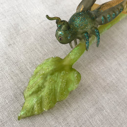 Grasshopper Clip-On Ornament