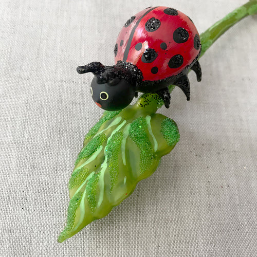 Lady Bug Clip-On Ornament