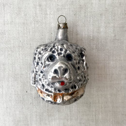 Nostalgic Dog Head Ornament