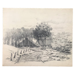 Evert Rabbers Landscape Drawing 27