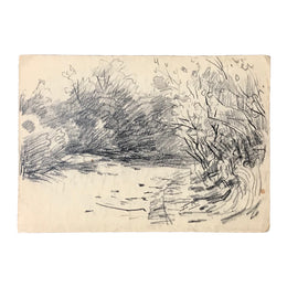 Evert Rabbers Landscape Drawing 28