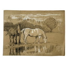 Evert Rabbers Horse Drawing 53
