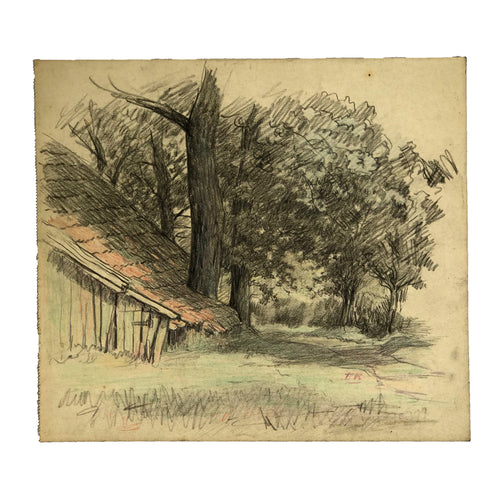 Evert Rabbers Landscape Drawing 41