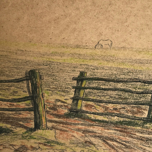 Evert Rabbers Landscape Drawing 42