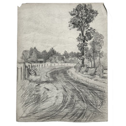 Evert Rabbers Landscape Drawing 46