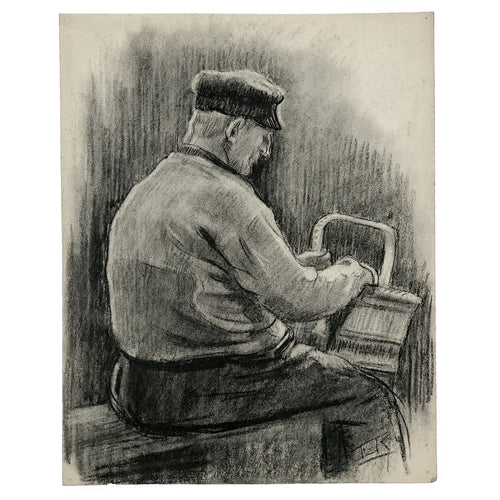 Evert Rabbers Portrait Drawing 34