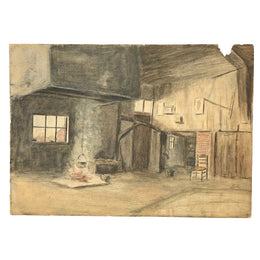 Evert Rabbers Barn Drawing 02
