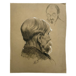 Evert Rabbers Portrait Drawing 37
