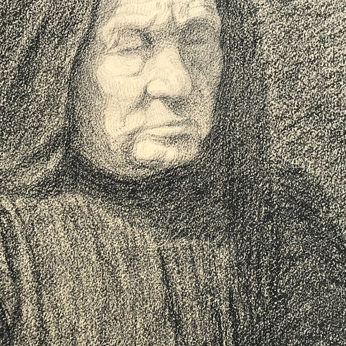 Evert Rabbers Portrait Drawing 45
