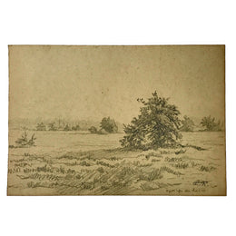 Evert Rabbers Landscape Drawing 54