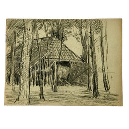 Evert Rabbers Landscape Drawing 60
