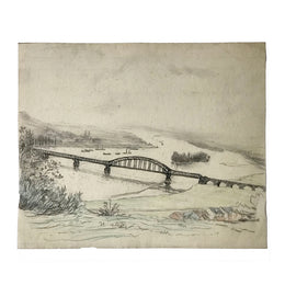 Evert Rabbers Landscape Drawing 61