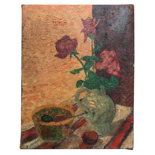 Mid 20th Century Dutch Still Life Painting