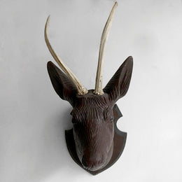 Black Forest Carved Deer