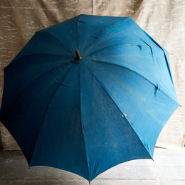 Early 20th Century Blue Umbrella 1