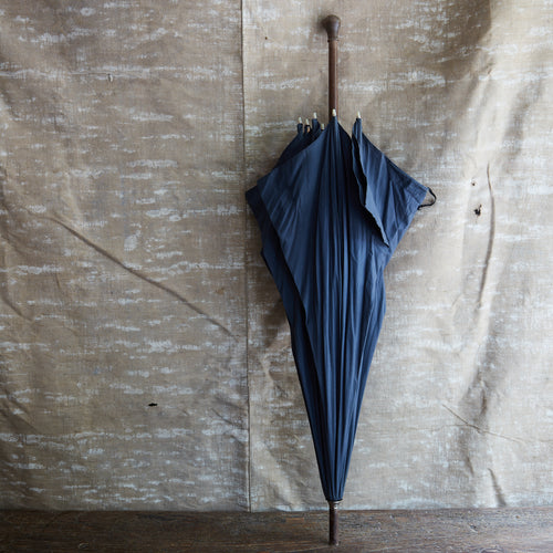 Early 20th Century Blue Umbrella 5