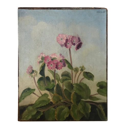 Mid 20th Century Dutch Floral Painting