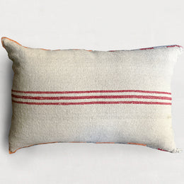 19th Century Wool Kilim Cushion