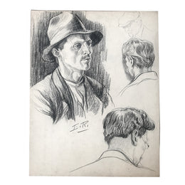 Evert Rabbers Portrait Study Drawing 11