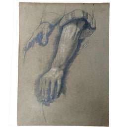 Evert Rabbers Hand Study Drawing 18