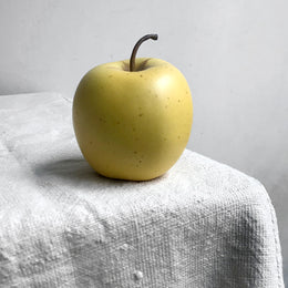 Golden Porcelain Apple