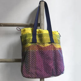 1905 Heather Mesh Tote