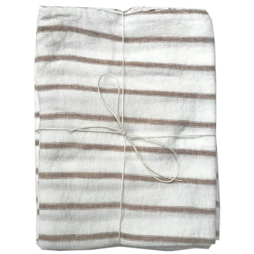 Basix Stripe Standard Pillowcase Pair
