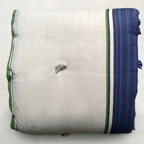 Blue & Green Stripe Futon