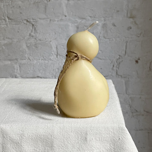 Scamorza Round Cow's Milk Cheese Candle