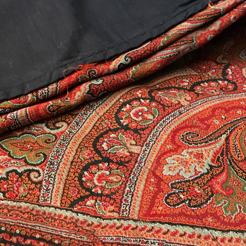 "19th Century French ""Paisley"" Textile No. 3"