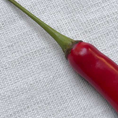 Long Red Porcelain Chili Pepper